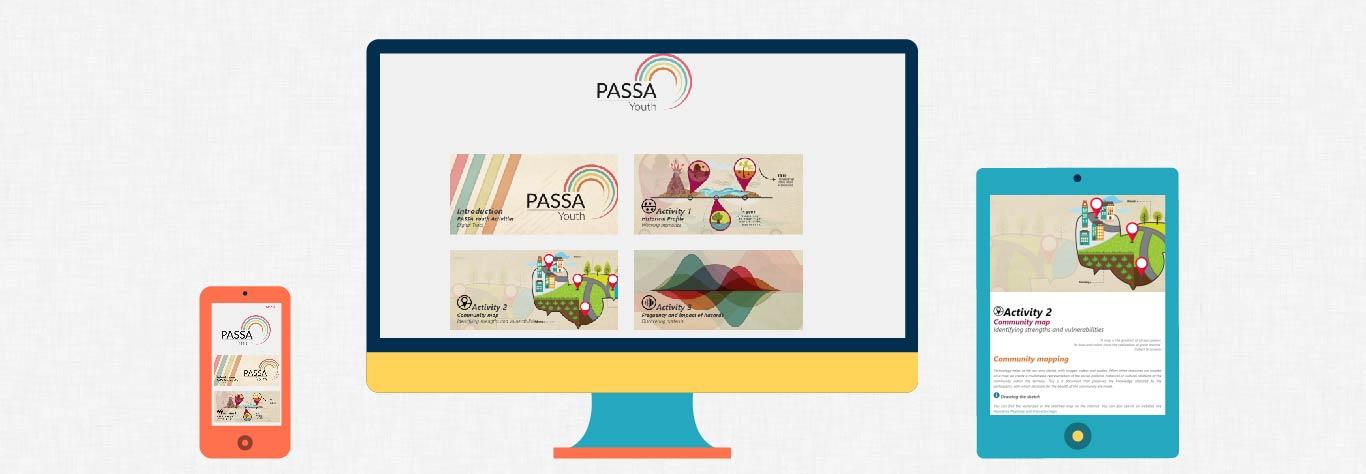 Pantallas del proyecto PASSA Youth